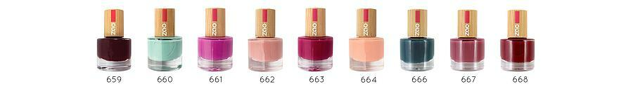Zao Nail Polish swatches