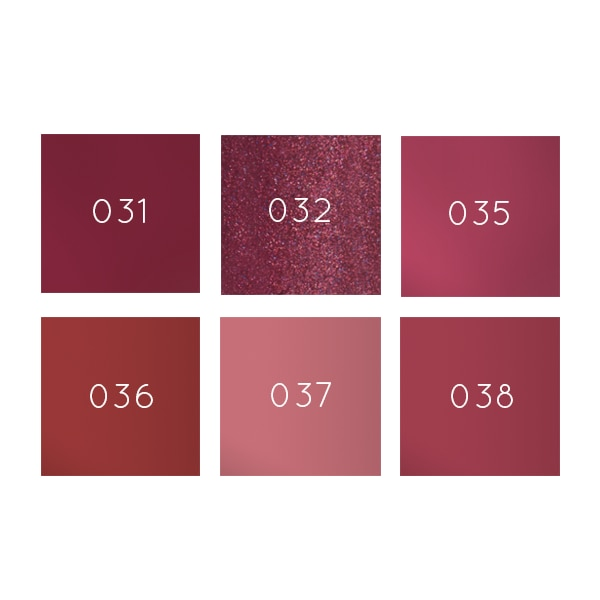 Zao Lip Polish swatches